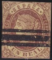 ESPANA  .      Yvert   57      .       O       .         Cancelled      .    /   .  Oblitéré - 1850-68 Regno: Isabella II