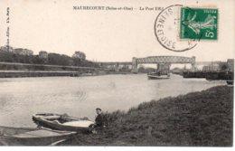 Cpa Maurecourt Le Pont Effel - Maurecourt