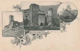***  Valle D'Aosta Castillo Di Fenis Castello Di St Pierre Di Sarre Unused TTBE Dos Simple - Italia