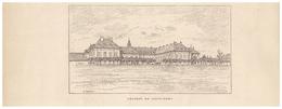 Gravure Sur Bois - 1904 - Saint-Remy (Haute-Saône) - Le Château - FRANCO DE PORT - Stiche & Gravuren