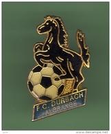FOOT *** F.C DURBACH - ALGRANGE *** 1010 - Calcio