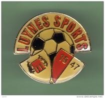 FOOT *** LUYNES SPORTS *** 1010 - Calcio