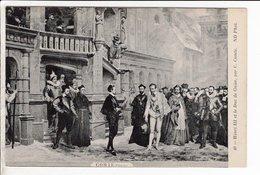 Cpa Carte Postale Ancienne  - Henri Lll Et Le Duc De Guise Par C Comte - History