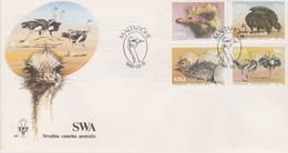 South West Africa 1985 Ostrych FDC - South West Africa (1923-1990)