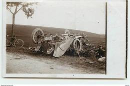 Carte Photo - Voiture Accidentée - Passenger Cars