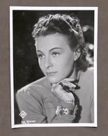 Cinema - Autografo Dell'attrice Ilse Werner - Anni '40 - Autographes