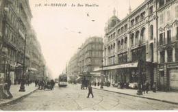 Marseille -La Rue Noailles - Cpa Grand Magasin -Boutique De Photographe-Tram  - Recto Verso- Paypal Sans Frais - The Canebière, City Centre