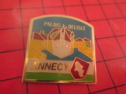 511c Pin's Pins / Beau Et Rare / THEME : VILLES / ANNECY PALAIS DELISLE Et La Braderie Alors ? - Villes