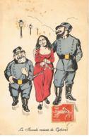 LA JOCONDE  Revient De Cythère - Illustrateur  Bady Carlos --Paypal Sans Frais - History