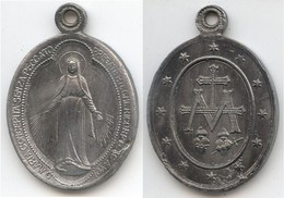 MED 177 - MEDAGLIA - MARIA CONCEèITA SENZA PECCATO PREGATE PER NOI - Religion & Esotericism