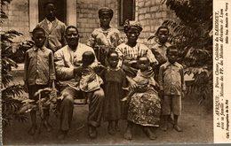 PIERRE CLAVER CATECHISTE DU DAHOMEY AVEC SA FAMILLE MISSIONS AFRICAINES DE LYON - Dahomey