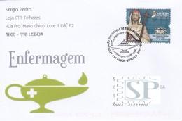 Portugal 2018 Associação Portuguesa Enfermeiros Lamparina Grega Greek Lamp Lampe Grecque Infirmière Nurse Jesuitas - Salud