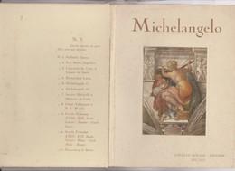 12 TABLEAUX MICHELANGELO (dans Enveloppe Couverture En Carton) - Peintures & Tableaux