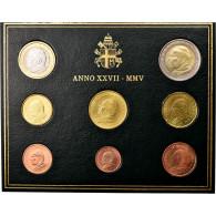Vatican, Set, Jean-Paul II, 2005 - Vatican