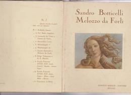 12 TABLEAUX SANDRO BOTTICELLI ; MELOZZO DA FORLI (dans Enveloppe Couverture En Carton) - Peintures & Tableaux