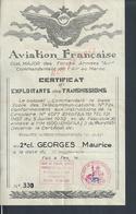MILITARIA LOT DE DOCUMENTS & PHOTOS ARMÉE DE L AIR AVIATION FRANÇAISE AU MAROC AVIATEUR GEORGES MAURICE FES , FEZ 1954 : - Documents