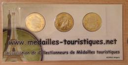 Série De 3 Médailles Touristique Marseille 26 ème Salon National 2010 - 2010