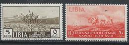 Libye YT 79-80 XX / MNH - Libye