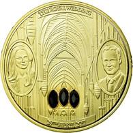 United Kingdom , Médaille, William Et Kate, The Royal Wedding, FDC, Copper Gilt - Altri