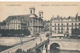 CPA - Transports - Tram - Tramway - Besançon - Pont Battant Et Eglise De La Madeleine - Other