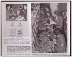 Dt- Reich (007872) Propagandasammelbild, Bilderdienst Weber Leipzig, Briefträgerinnen Im Dienste Der Rüstungsproduktion - Deutschland