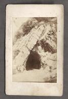Fotografia Originale D'epoca Della Galleria Di Varenna - Lago Di Como - 1880 Ca. - Foto