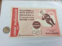 """Buvard """"CAFÉ Qualité HAVANE UNA"""" - Café & Thé"""