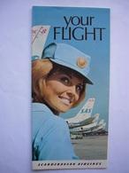 Avion / Airplane / SAS / Douglas DC-8 Super-Fan - DC-9 - Cutaways