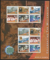 2000 Ireland Millenium: World Events Sheetlet (** / MNH / UMM) - Blocks & Sheetlets