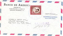 NICARAGUA AIRMAIL COVER 1958 - Nicaragua
