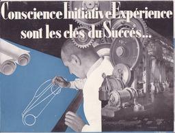 Renault, Conscience, Initiative, Expérience Sont Les Clés Du Succès - Advertising