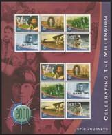 2000 Ireland Millenium: Epic Journeys Sheetlet (** / MNH / UMM) - Blocks & Sheetlets