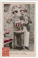 Cpa Carte Postale Ancienne  - Fantaisie Couple  Eld - Couples