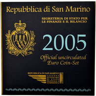 San Marino, Set, 2005, FDC - San Marino