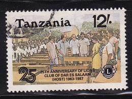 Tanzania 1987, Lions Club International, Vfu - Tanzania (1964-...)