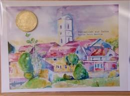 Médaille Touristique Pontailler Sur Saône 2011 N° 30/100 - Monnaie De Paris