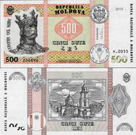 Moldova 2015 - 500 Lei - Pick 27 UNC - Moldova