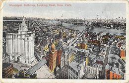 Manhatan - Municipal Building, Looking East, New York 1918 - Manhattan