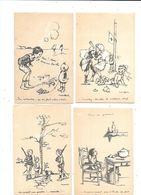 11147 - Lot De 8 CPA Illustrées POULBOT N°62/64/65/66/67/68/69/70 - Poulbot, F.