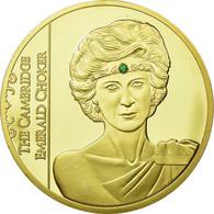 United Kingdom , Médaille, La Princesse Diana, The Cambridge Emerald Choker - Royaume-Uni