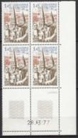N° 1937 - X X - Daté 28/03/77 - Coins Datés