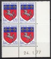 N° 1510 C - X X - Daté 24/01/77 - Angoli Datati