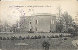 * TONNAY CHARENTRE. LE CHATEAU. TOUR OUEST - France