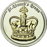 United Kingdom , Médaille, Saint Edward's Crown, FDC, Copper-nickel - Altri