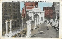 Madison Square Park - Victory Arch, 25th St. And Fifth Ave. New York City NY - Places & Squares