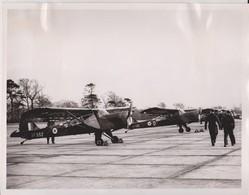 CAMPAIN AGAINST IRA ALDERGROVE N IRELAND RAF STATION  PETER WILSON BUFFS  AUSTER AOP6  ++ 25 * 20 CM AUSTER AIRCRAFT - Lieux