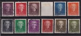 Dutch Antilles 1950, Complete Set, Vfu. Cv 7,90 Euro. Read - Niederländische Antillen, Curaçao, Aruba