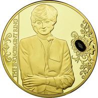 United Kingdom , Médaille, La Princesse Diana, The Engagement Ring, FDC, Copper - Royaume-Uni