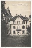 77 - SAINTS - Château De La Tour - Côté Du Parc - Autres Communes