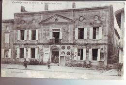 20 RE CPA Casteljaloux La Caserne Sadi Carnot - Casteljaloux